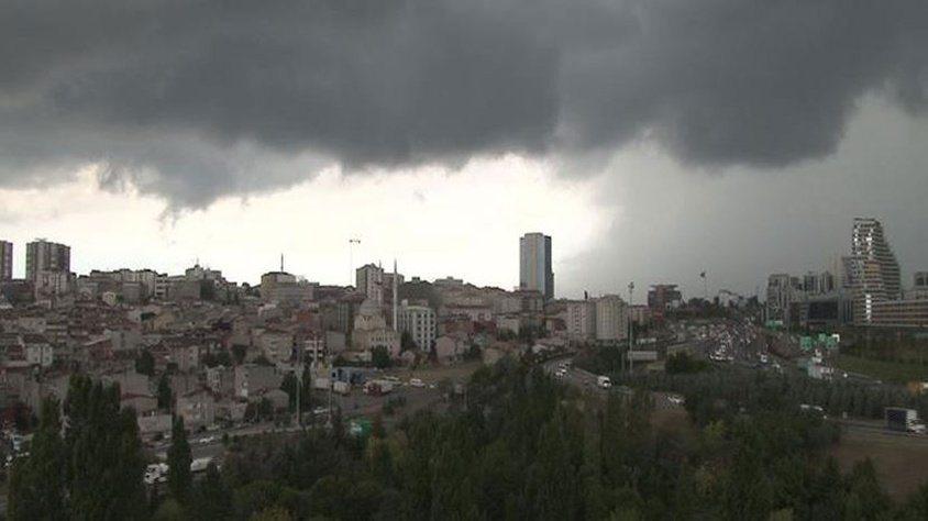 İstanbul'a 3 günlük sağanak uyarısı