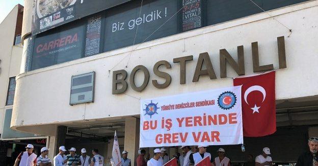 İzmir'de grev bitti, işçiler tepkili