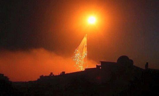 Suriye'den BM'ye: Uluslararası Koalisyon Suriye'de beyaz fosfor kullanıyor