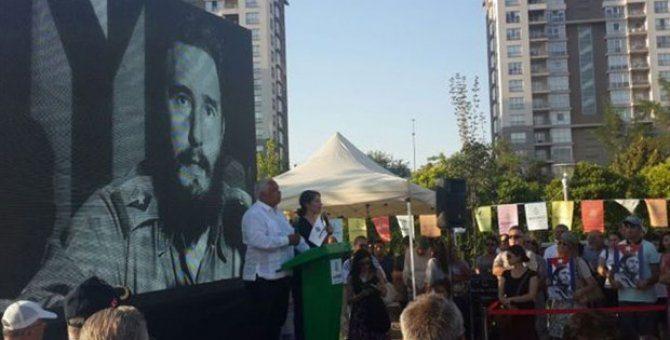 Fidel Castro Parkı açıldı