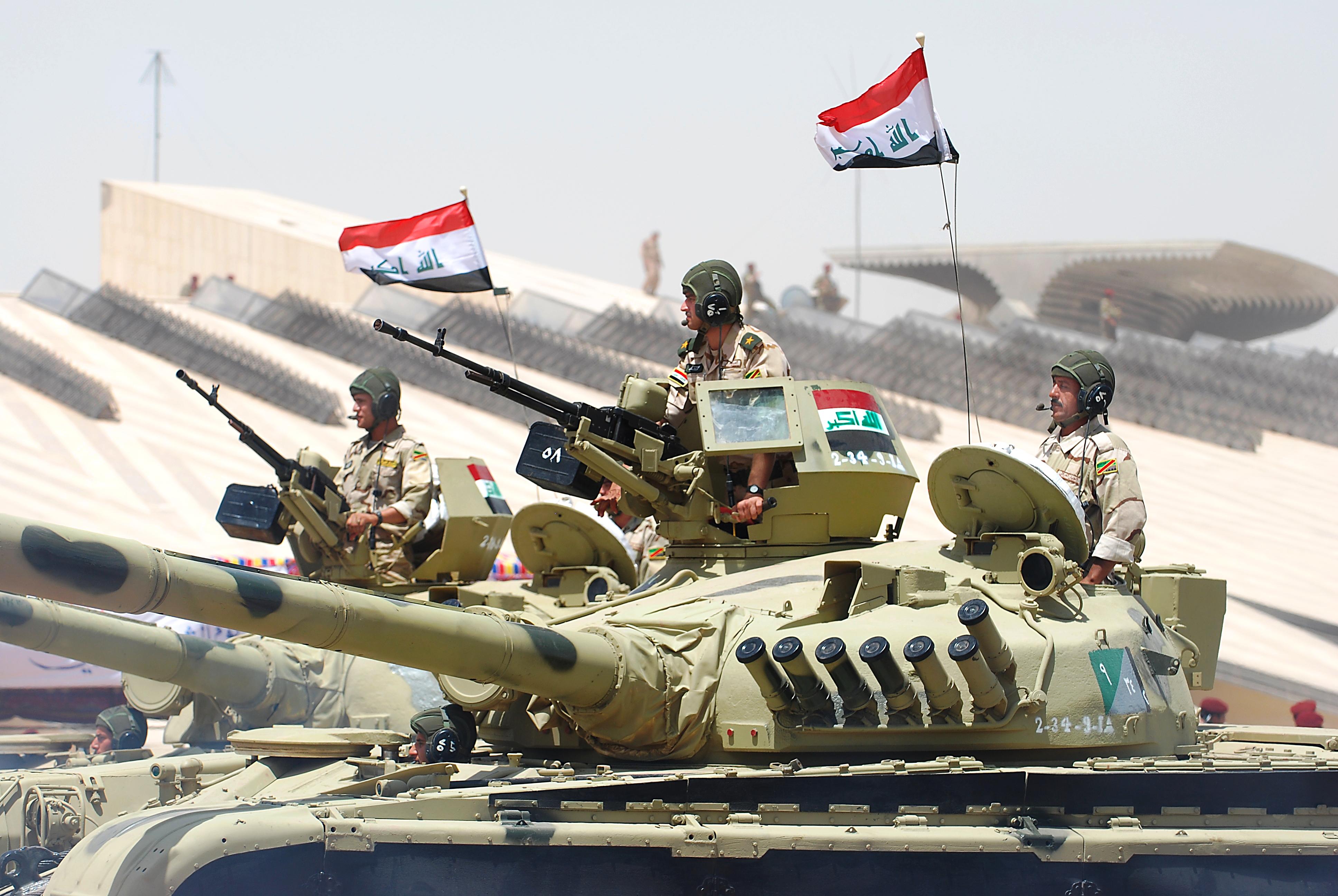 Irak Ordusu Telafer'i bombalıyor