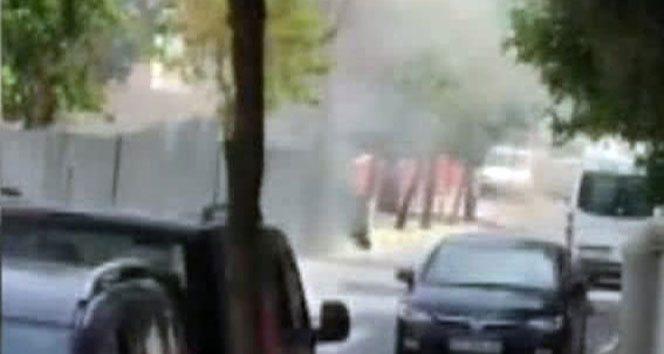VİDEO | İstanbul'da metro inşaatında patlama anları kamerada