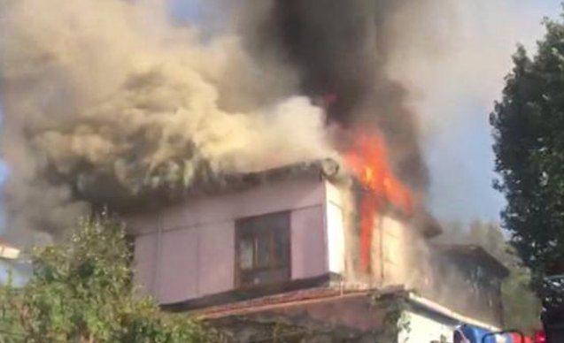 Kasımpaşa'da tarihi Büyük Hamam yandı