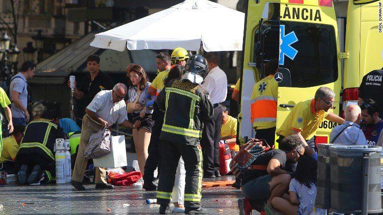 Barcelona'daki saldırıyı IŞİD üstlendi