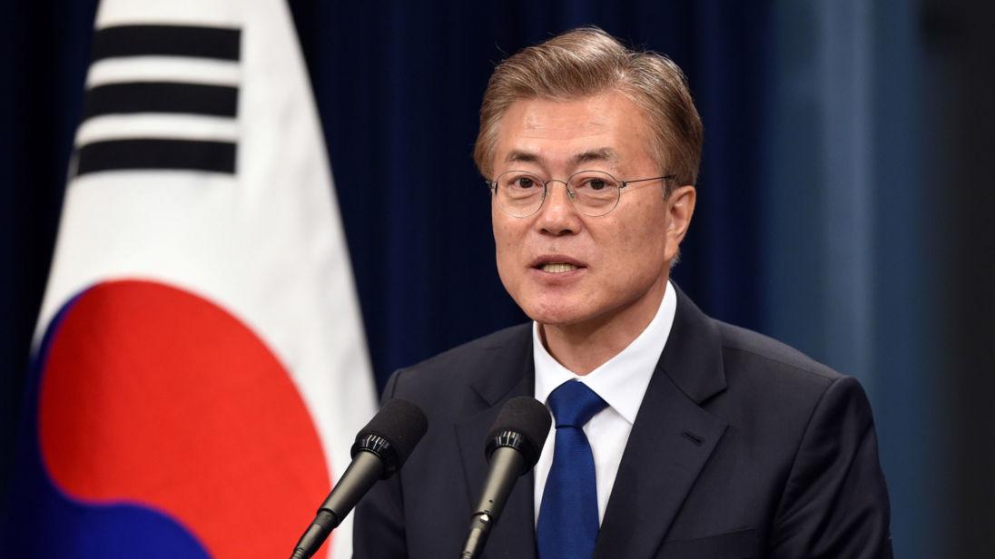 Güney Kore Cumhurbaşkanı: Kuzey Kore'yle nükleer kriz barışçıl yollarla çözülmeli