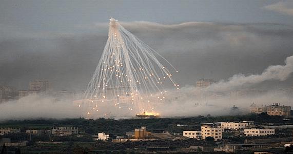 SANA: ABD öncülüğündeki koalisyon Rakka'da fosfor bombası kullandı