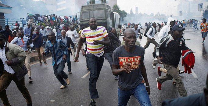 Kenya'da seçim protestosu : 24 ölü