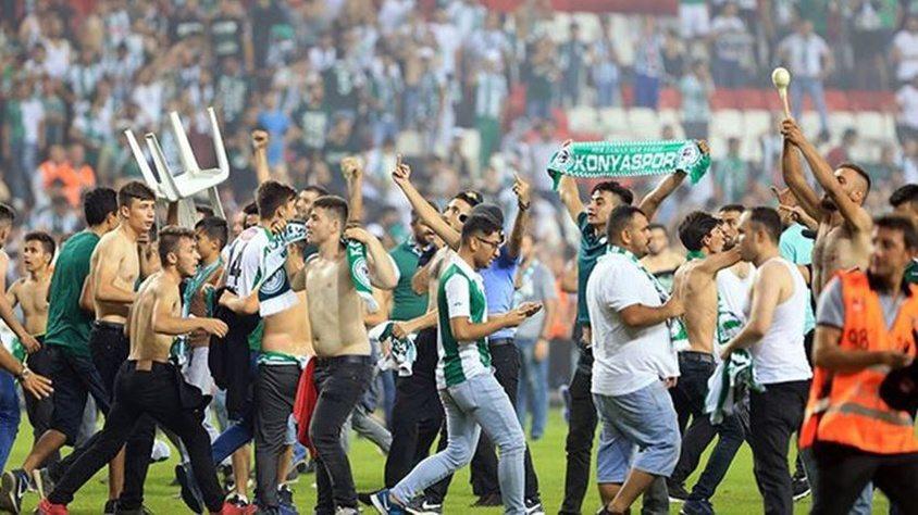 Konyaspor taraftarları Quaresma'ya saldırdı