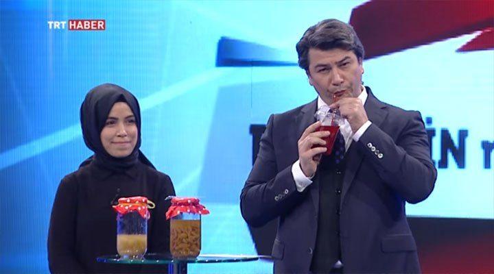 VİDEO | İşte TRT'nin en parlak fikri: Organik hoşaf!