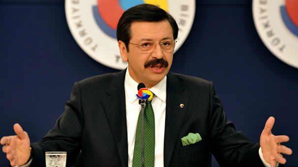 TOBB Başkanı Hisarcıklıoğlu Almanya'da:'Bu fırsatları kaçırmayın, Türkiye'de yatırım yapın