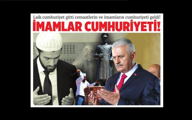 Sosyalist Cumhuriyet gazetesinden yeni sayı: İmamlar Cumhuriyeti