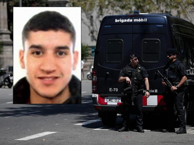 Barselona saldırısının faili vuruldu
