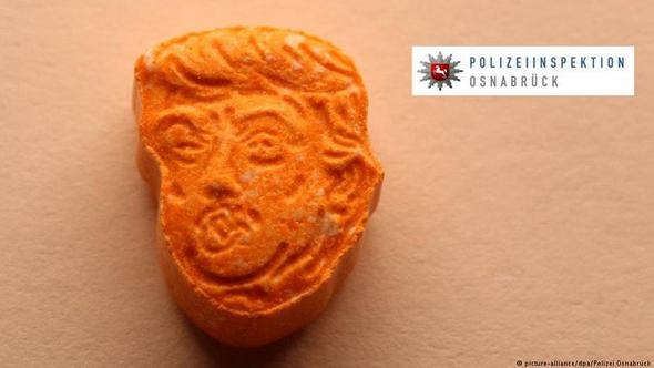 'Trump kafası' şeklinde binlerce uyuşturucu yakalandı