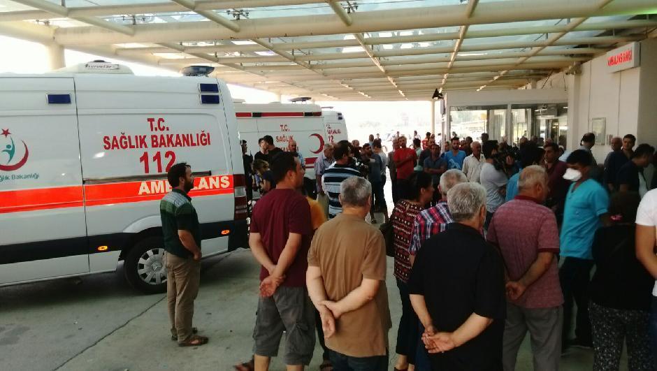 Hastanede gaz sızıntısı: Bina boşaltıldı