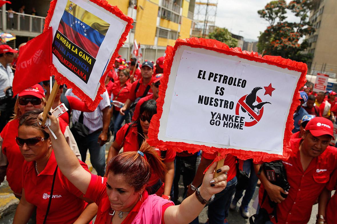 Trump'tan Venezuela'ya tehdit: Askeri seçeneği de düşünüyoruz