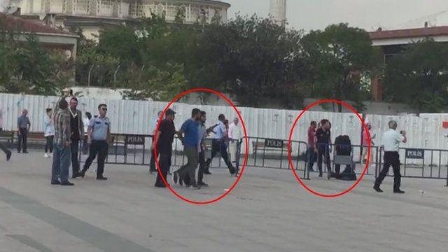 Çağlayan Adliyesi'nde silahlı çatışma