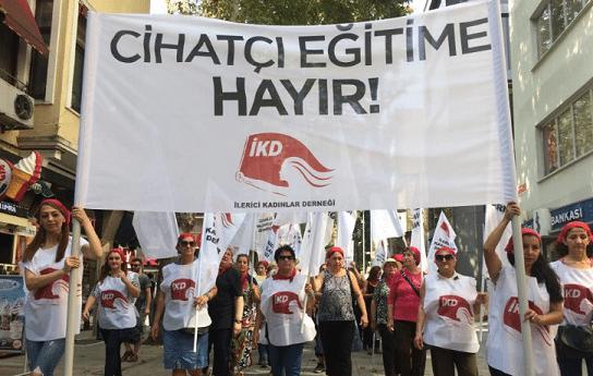 İKD İstanbul İl Milli Eğitim'in önüne çağırıyor