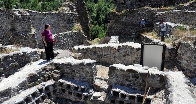 Şavşat'ta bin yıllık şarap atölyesi bulundu