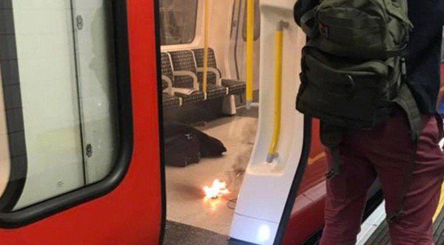 Londra'da patlama