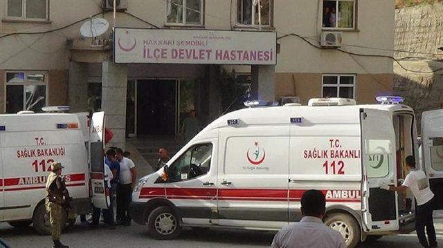 Havan mermisi Suriyelilerin bulunduğu alana düştü: 1 ölü, 5 yaralı