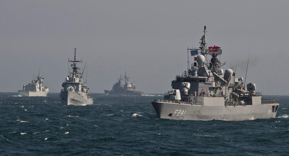 Marmaris açıklarında NATO tatbikatı