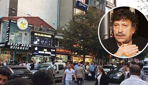 Hrant Dink'in kardeşinin kitabevine sopalı saldırı