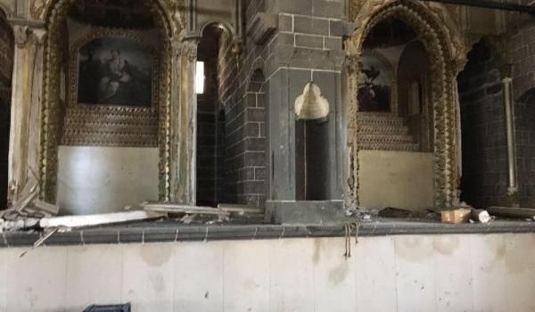 600 yıllık kiliseden 'yasağa' rağmen her gün eşya çalınıyor