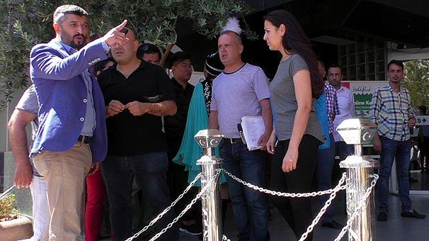 Bir'MHP' haberi: Müdüre darp, basına ölüm tehdidi