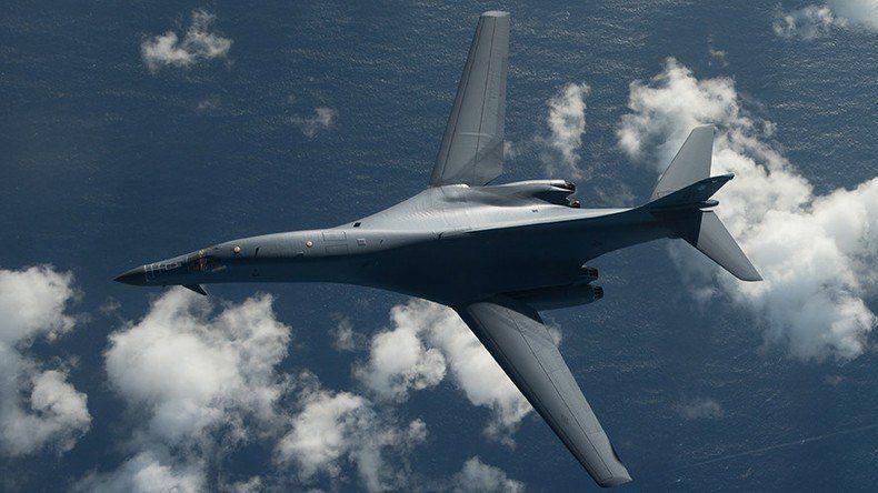 Amerikan bombardıman uçaklarından KDHC sınırlarında taciz uçuşu!