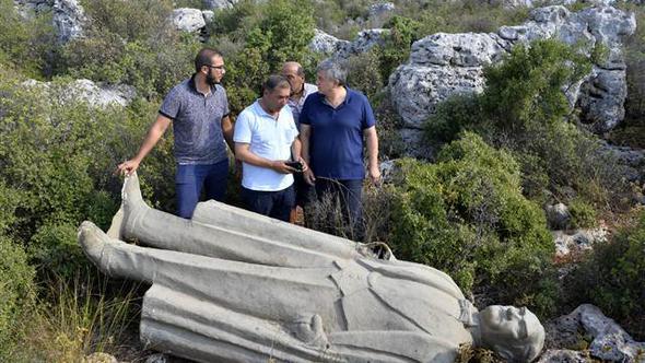 Ormanlık alana atılan Atatürk heykeliyle ilgili yeni gelişme