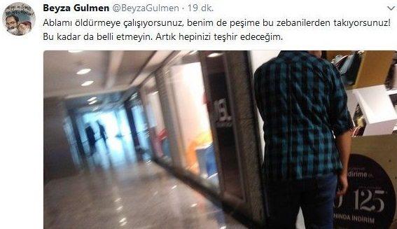 Nuriye Gülmen'in kardeşi takip ediliyor!