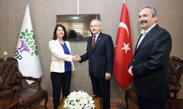 CHP'den 'HDP ile ittifak' açıklaması