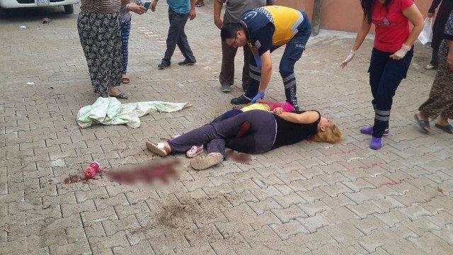 Anne ve kızına okul yolunda silahlı saldırı