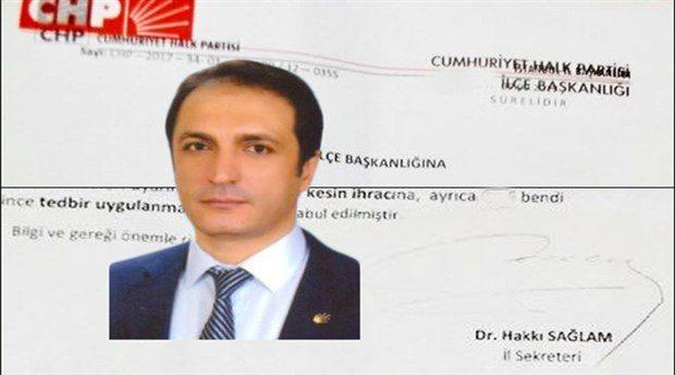CHP'ye AKP de engel olamadı: İlçe başkanı 'içki içtiği' gerekçesiyle ihraç edilecek