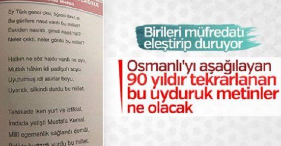 Ensonhaber: Osmanlı hayranı, Cumhuriyet düşmanı!