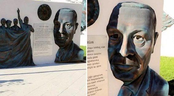 Erdoğan'dan kaldırılan heykeliyle ilgili açıklama