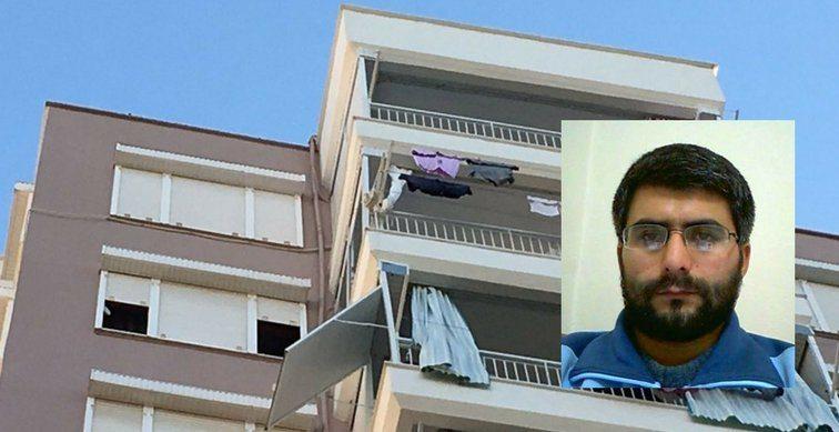 İşsizlik nedeniyle bunalıma giren jeofizik mühendisi, 9. kattan atlayarak hayatına son verdi