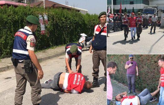 12 Eylül işte böyle sürüyor: Jandarma müdahalesiyle ikinci kez grev kırıcılığı!