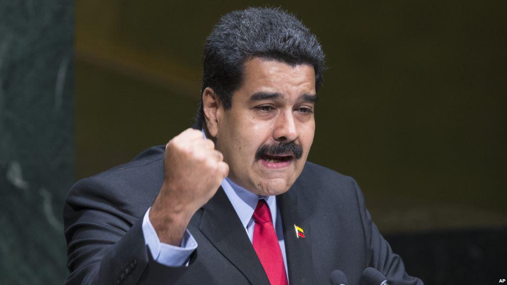 Maduro konuşmasını iptal etti