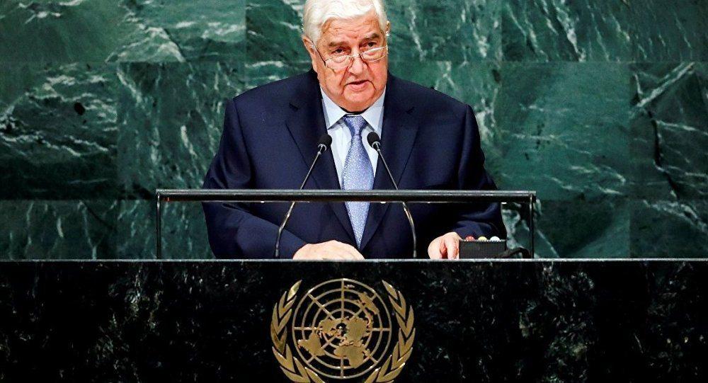 Suriye Dışişleri Bakanı BM'de:'IŞİD'e Karşı Koalisyon', IŞİD'den daha fazla sivili öldürdü