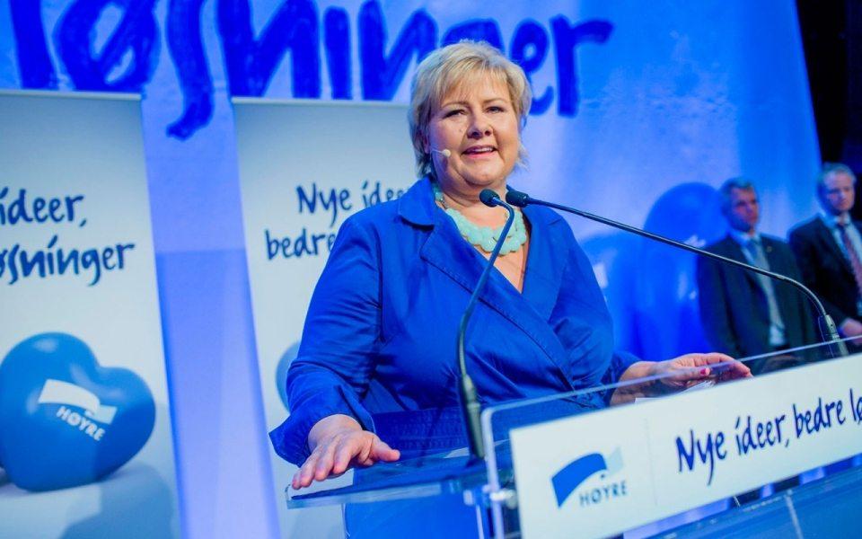 Norveç genel seçimlerini sağ koalisyon kazandı
