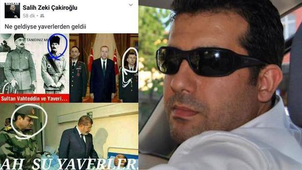 Atatürk'lü 'yaver' paylaşımı tepki çeken AKP'li belediye çalışanı kovuldu