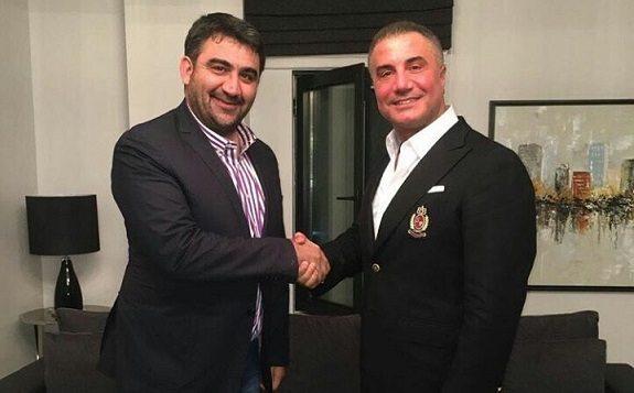 Ümit Özat Sedat Peker'i ziyaret etti: