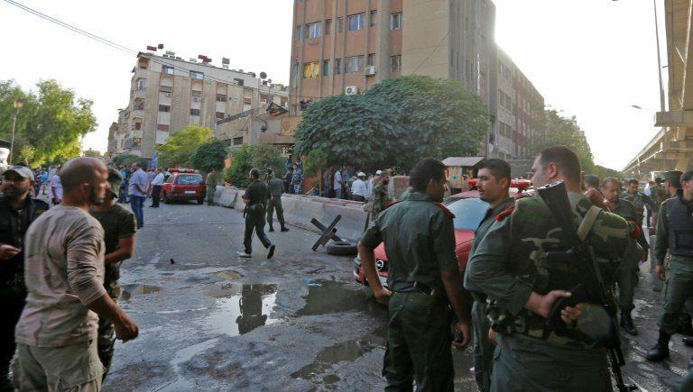 Şam'da polis merkezine canlı bombalarla saldırı: 1 ölü, 6 yaralı