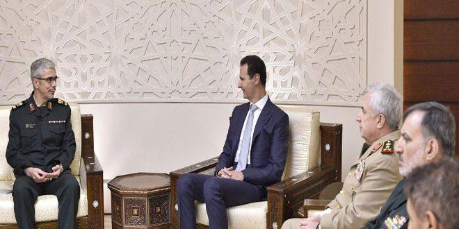 Beşşar Esad: Terörün yok edilmesi, bölge ve halklarını hedef alan planların çökertilmesi demektir