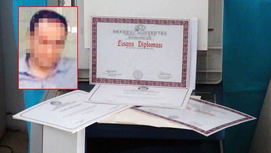 Sahte diplomayla 19 yıl öğretmenlik yaptı, taramaya takıldı