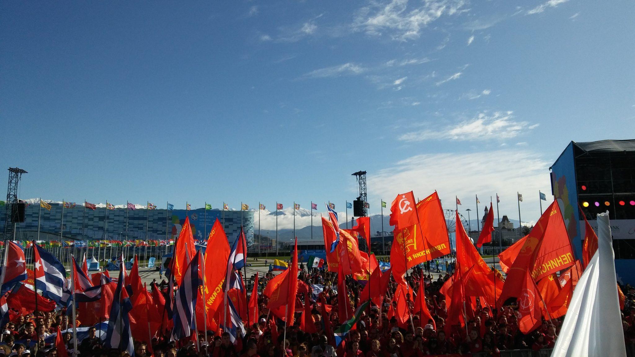 Anti-emperyalist gençlik Dünya Gençlik ve Öğrenci Festivali'nde buluştu