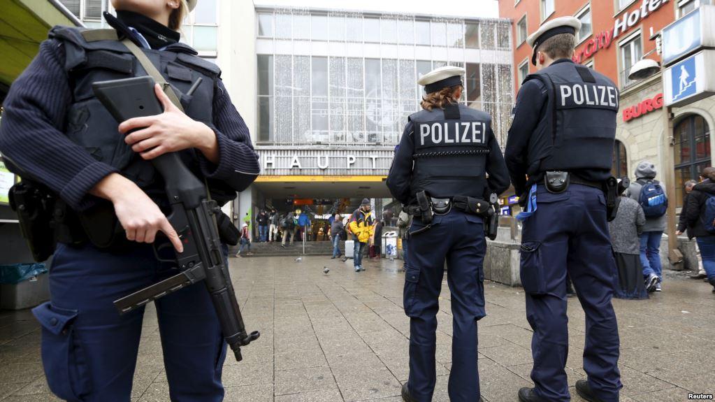 Almanya saldırganı yakalandı