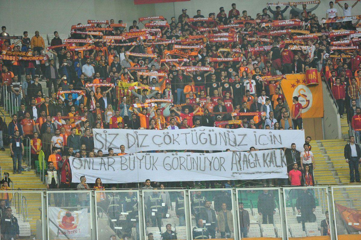 Galatasaray'dan koreografi açıklaması