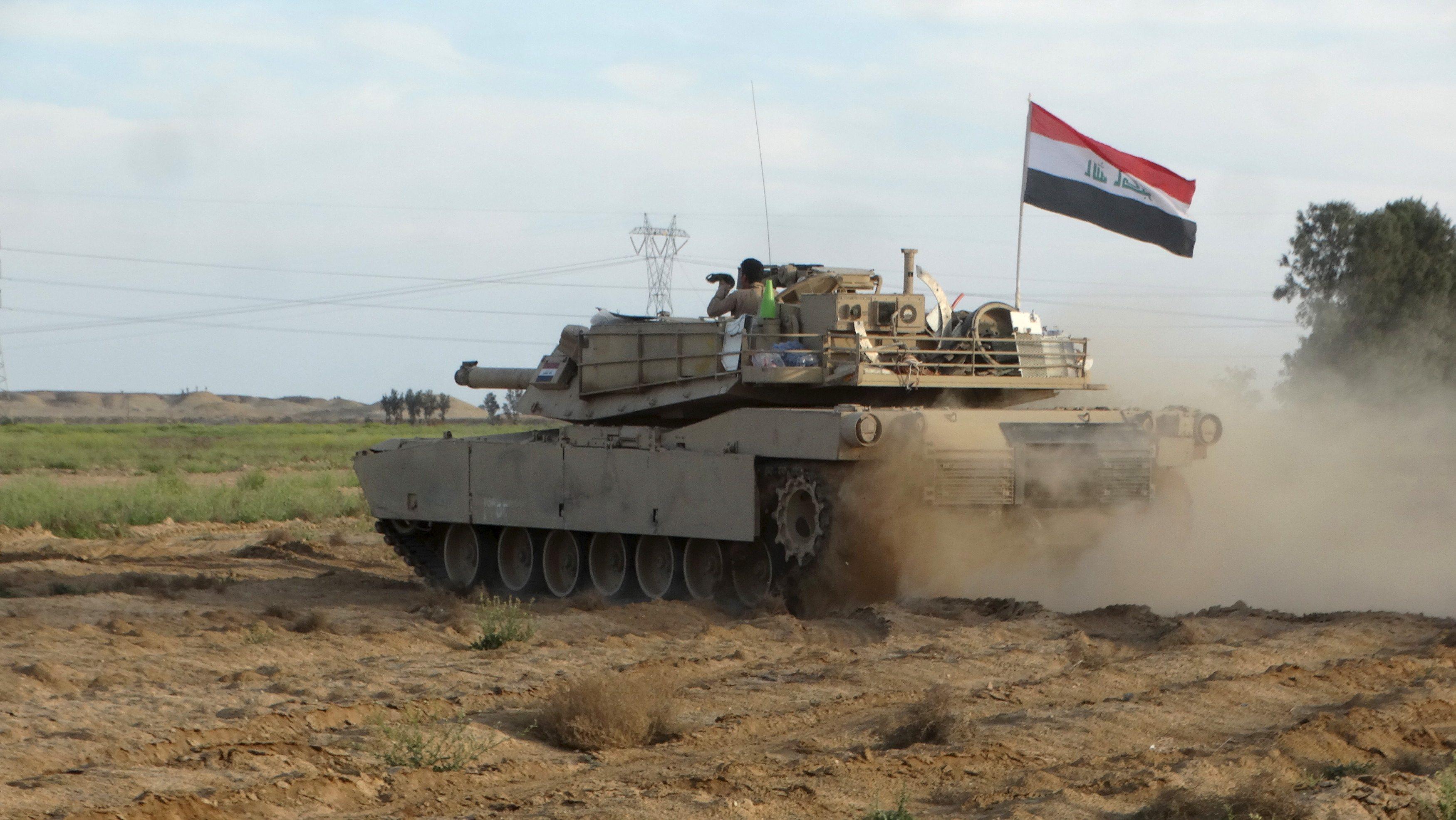 Irak ordusu, IŞİD'in ülkedeki'son kale'sine girdi